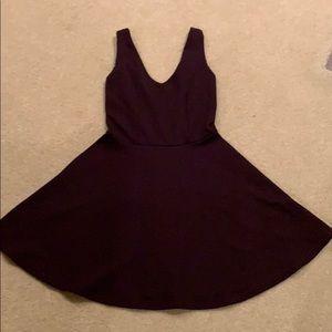 TopShop Tank Wine Skater Dress